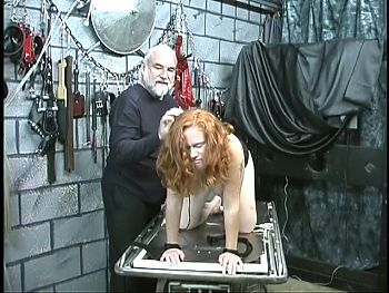 Red head sub gets pound to table by master