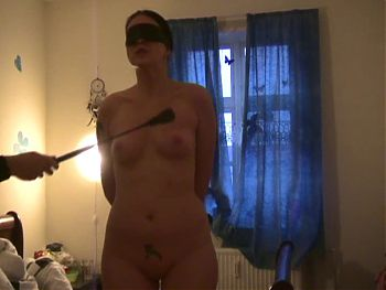 Amateur spanking and facial