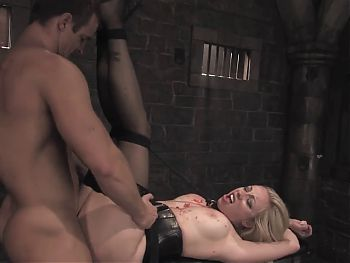 Blonde submission to anal
