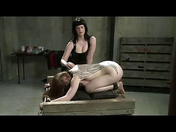 Subgirl intense fucke3d with strapon