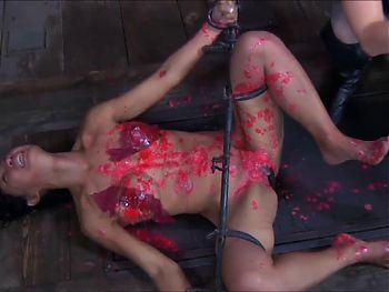 asian slave degraded 2