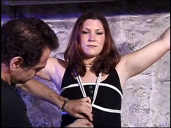 Andrea and Rick Savage in a BDSM scene