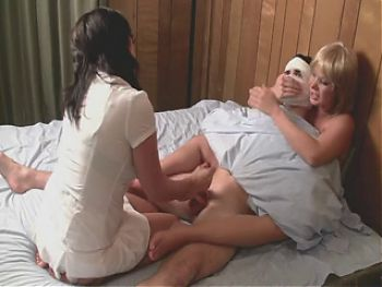 Nurse Handjob: Patient with Night Terrors Needs Therapy